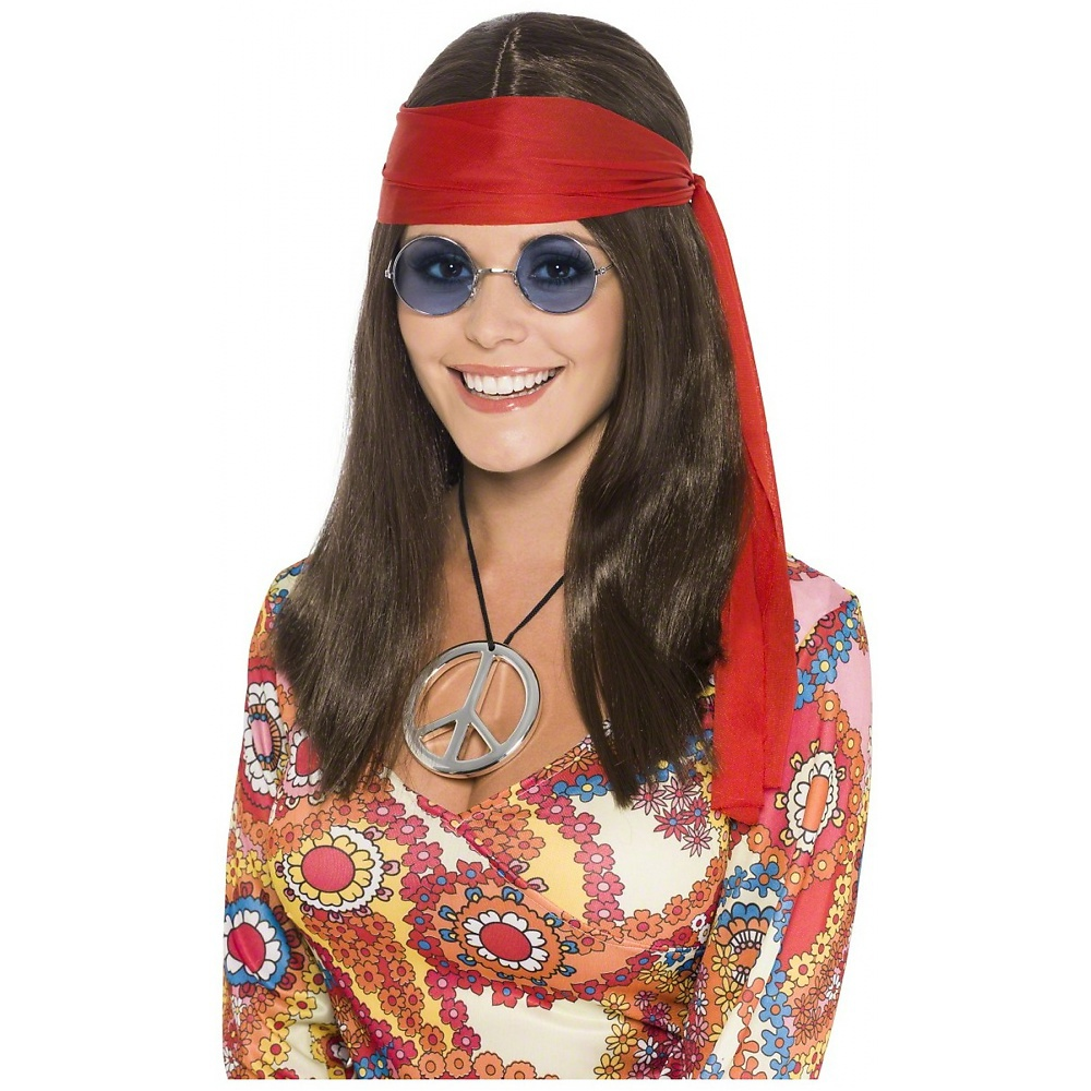 Hippy Chick Kit Adult Costume Accessory Set