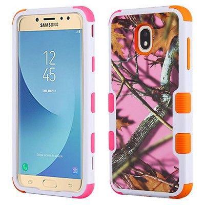 "99745ed9de9 Mystcaseâ""¢ For Samsung Galaxy J7 2018   J7 Refine   J7 Star   J7 Achieve    J7 V 2nd Gen. TUFF HYBRID Protector Hard Case Skin Cover + Screen Guard"