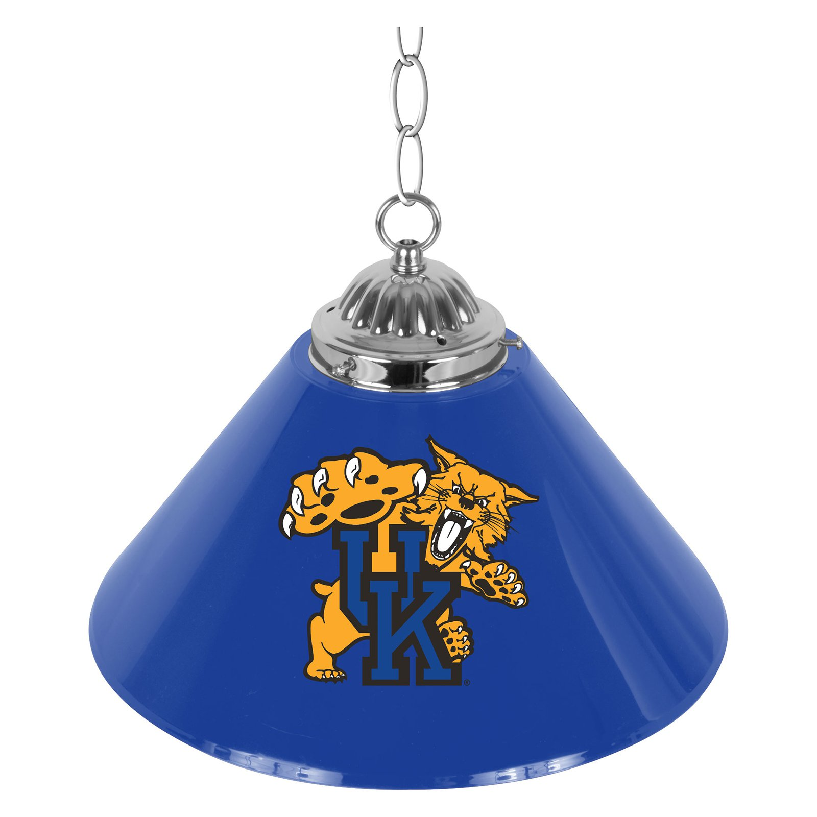 University of Kentucky Wildcats Single Shade Bar Lamp, 14""