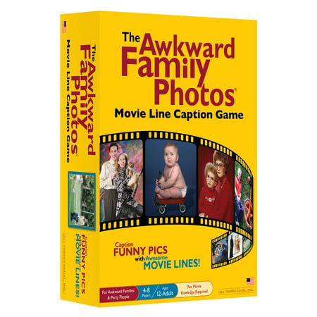 The Awkward Family Photos Movie Line Caption Game - Family Dvd Game