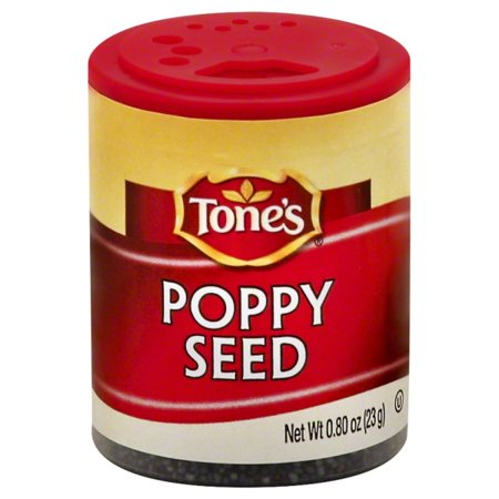 (4 Pack) Tone's Poppy Seed, .80 oz