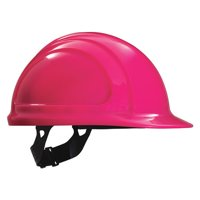HONEYWELL NORTH Hard Hat,4 pt. Pinlock,Hot Pink N10200000