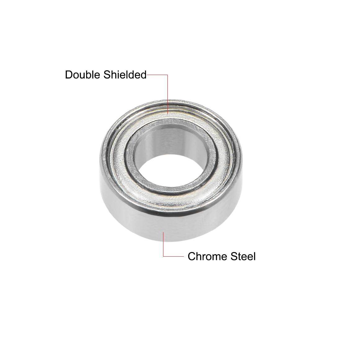 Miniature Ball Bearing MR84-ZZ With 2 Metal Shields 4x8x3mm