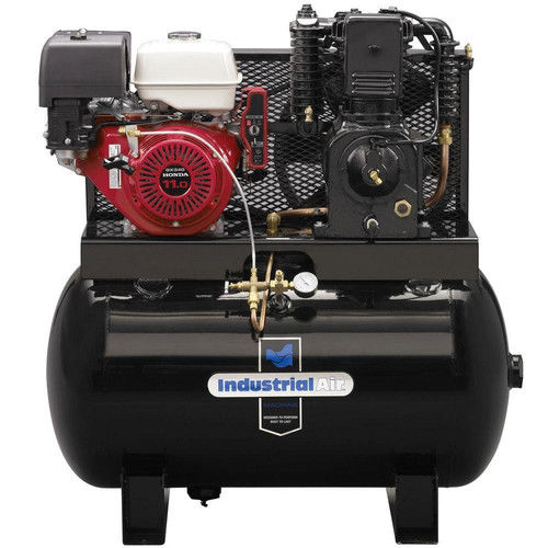 Industrial Air IH1195023 11 HP 50 Gallon Oil-Lube Truck Mount Air Compressor with Honda Engine