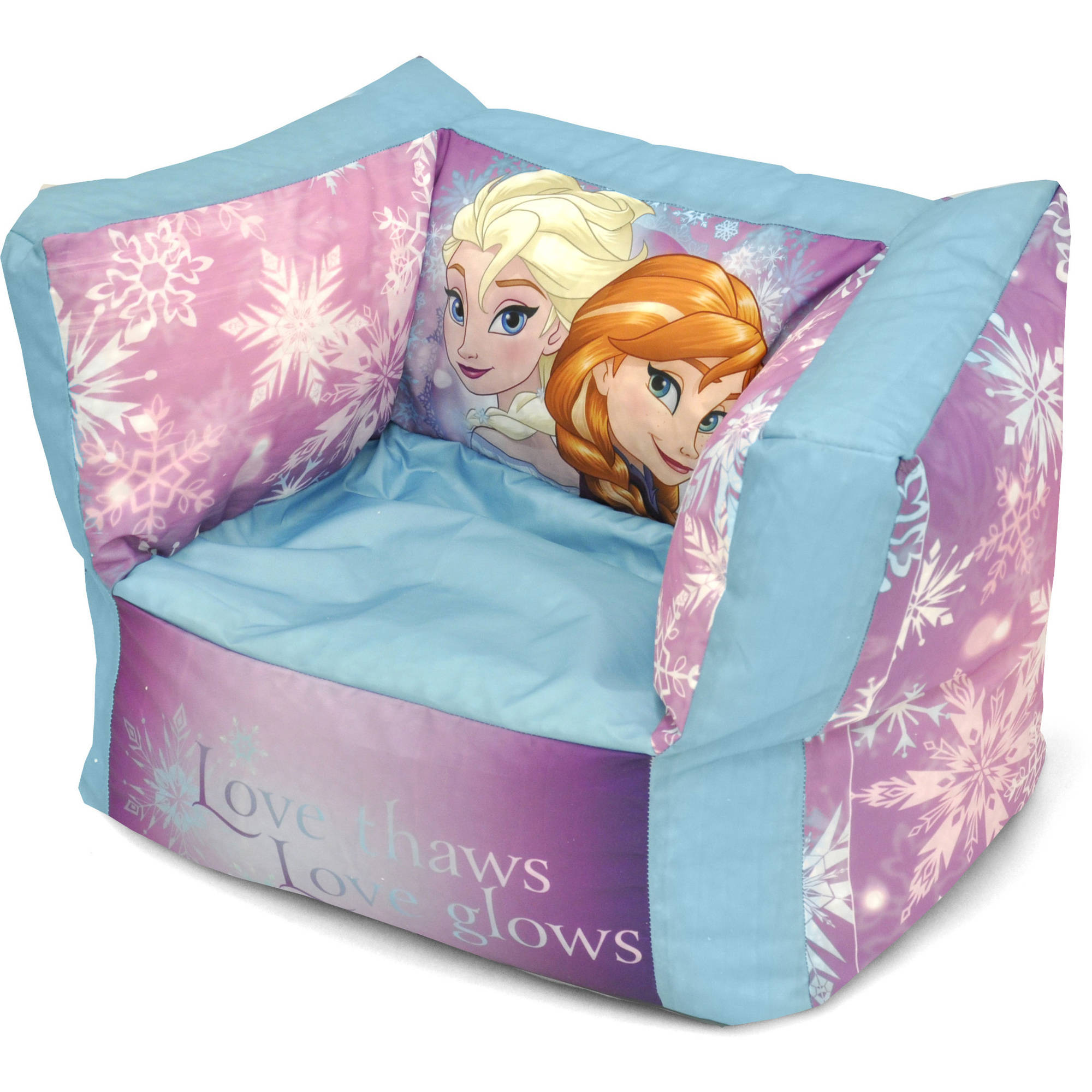 Frozen Square Bean Bag Chair
