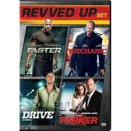 Drive / Parker / Faster / The Mechanic (DVD)