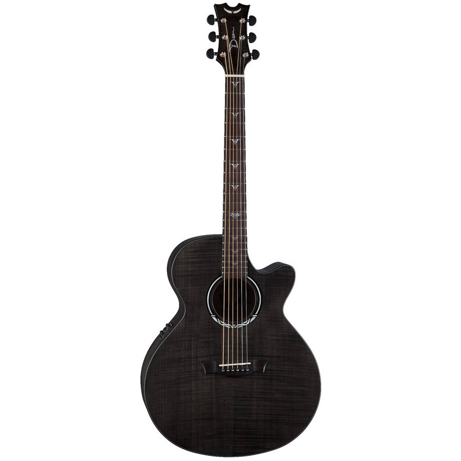 Dean Performer Ultra Acoustic Flamed Maple Trans Black by Dean