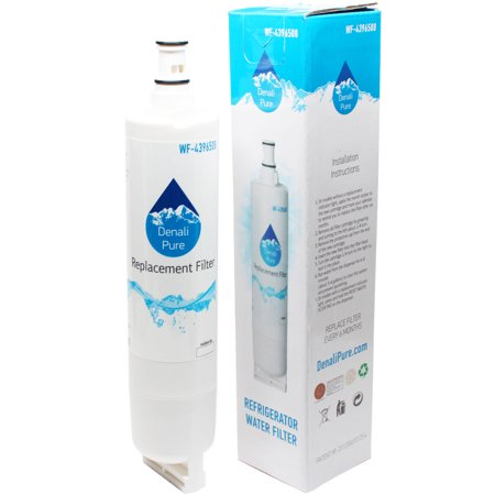 Replacement KitchenAid KSRP25FNSS00 Refrigerator Water Filter - Compatible  KitchenAid 4396508, 4396509, 4396510 Fridge Water Filter Cartridge