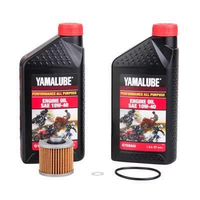Oil Change Kit With Yamalube All Purpose 10W-40 for Yamaha RAPTOR 700 2006-2019