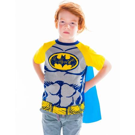 Batman Caped T-Shirt Toddler/ Little Boys