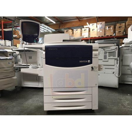 Refurbished Xerox 700 Digital Color Press Laser Production Printer - 70ppm, Print, Copy, Scan, 3 Trays, Bypass Tray, Offset Catch Tray, MMX Bustled Fiery ()
