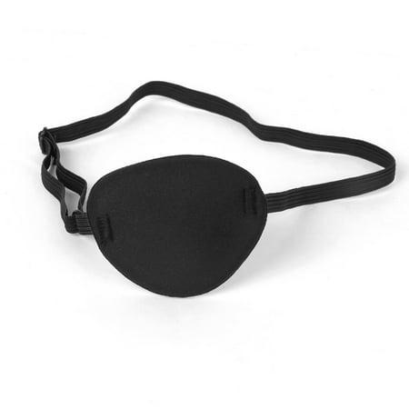 Pirate Skull Crossbone Children Kids Eye Patch Eye Mask for Lazy Eye (Black)