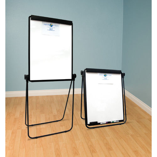 Studio Designs Docupoint Whiteboard Presentation Easel in Black