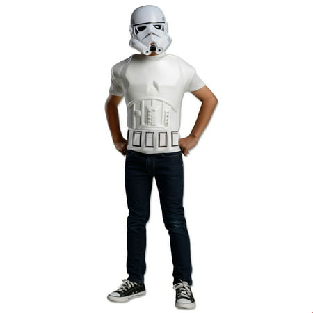Star Wars Mens Storm Trooper Molded Halloween Costume for $<!---->