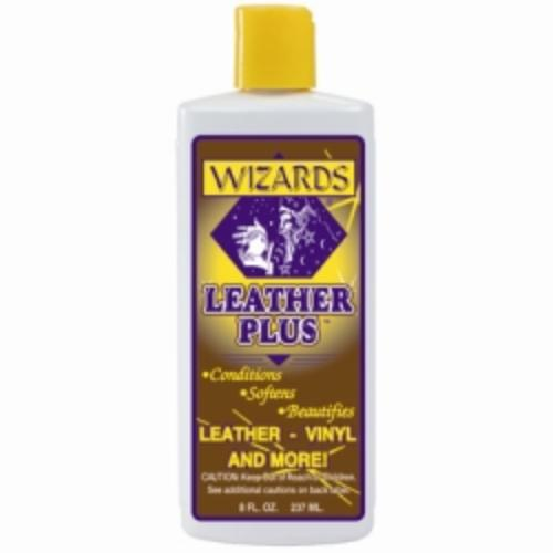 Leather Plus Leather Conditioner, 8 Oz Bottle, Preserves And Protects Leather, Vinyl And Naugahyde