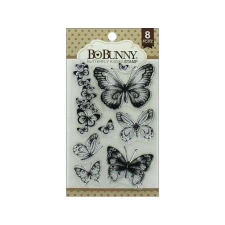 Bo Bunny BBU12105027 Butterfly Kisses Stamp (Bo Bunny Clear Stamps)