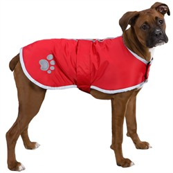 Zack and Zoey Classic Nor'Easter Jacket, Red, Small