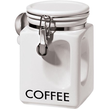 Oggi White EZ Grip Coffee Canister 5832.1