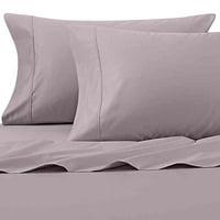 Wamsutta 625-Thread Count PimaCott Queen Sheet Set in Lavender