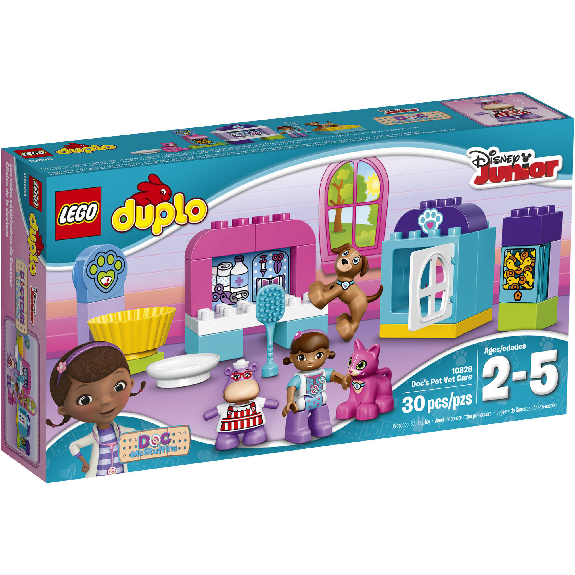 Disney Doc McStuffins' Pet Vet Care LEGO Set