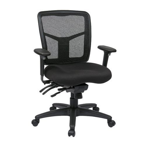 Office Star Products Pro-Line II Series Mid-Back Desk Chair