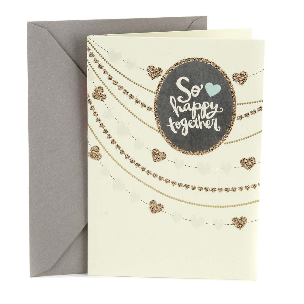 Hallmark, Strings of Hearts, Wedding Greeting Card