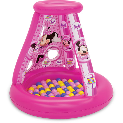 Disney Minnie Mouse Let's Get Pretty Playland with 15 Balls