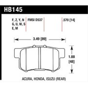 Hawk 06+ Civic Si Ceramic Street Rear Brake Pads