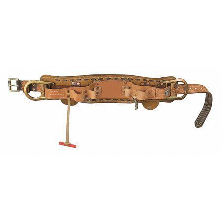 Klein Tools 5278N-26D Deluxe Full-Floating Body Belt,26 G...