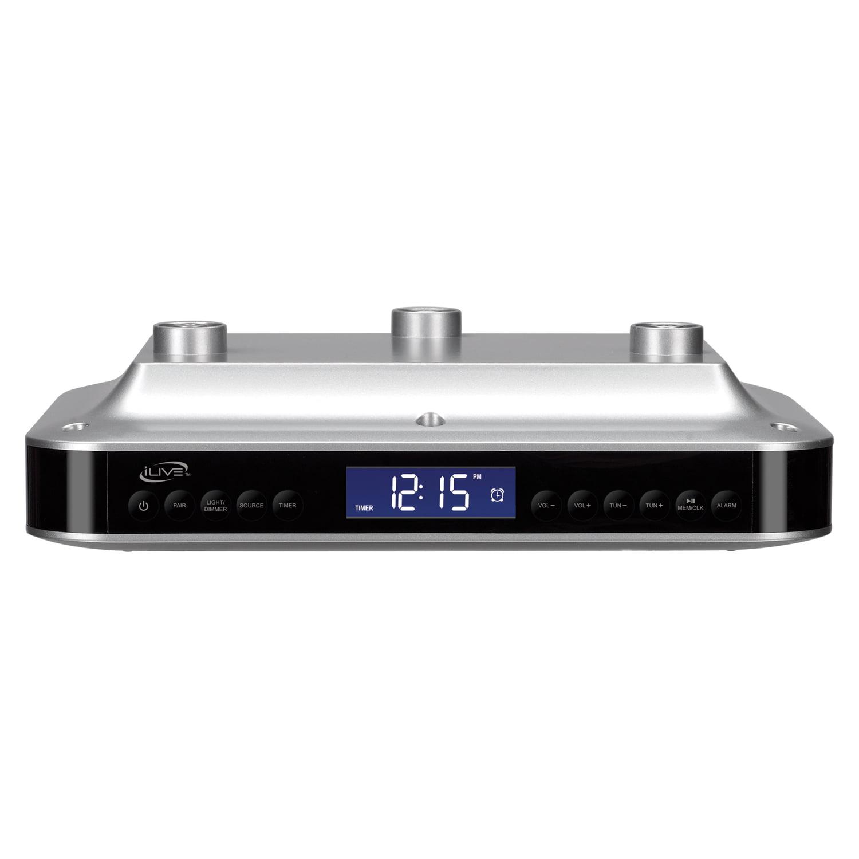 iLive IKB333S Under Cabinet Bluetooth Digital Radio - Walmart.com