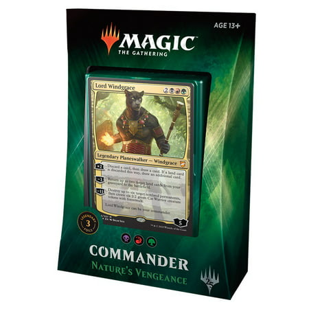 MtG Commander 2018 Nature's Vengeance Deck [Black Red