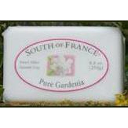 - French Milled Soap Bar Pure Gardenia South of France 6 oz Bar
