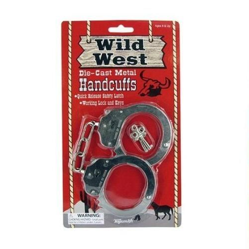 Wild West Handcuffs - Dress-Up Toys by Toysmith (3602)