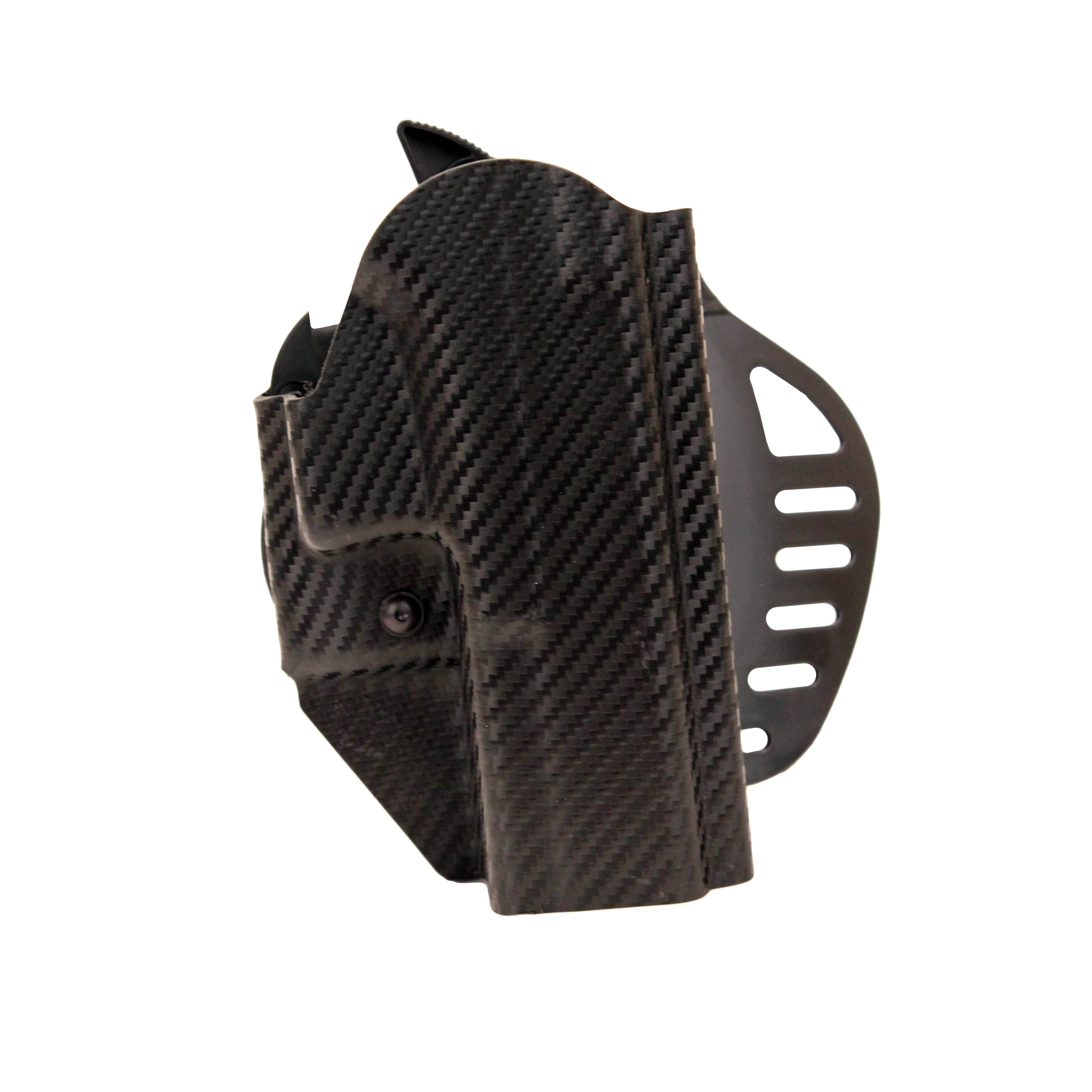 Hogue Powerspeed ARS Stage 1 CarbonFiber Weave Holster C10, Glock 20, 21, Right Hand by Hogue