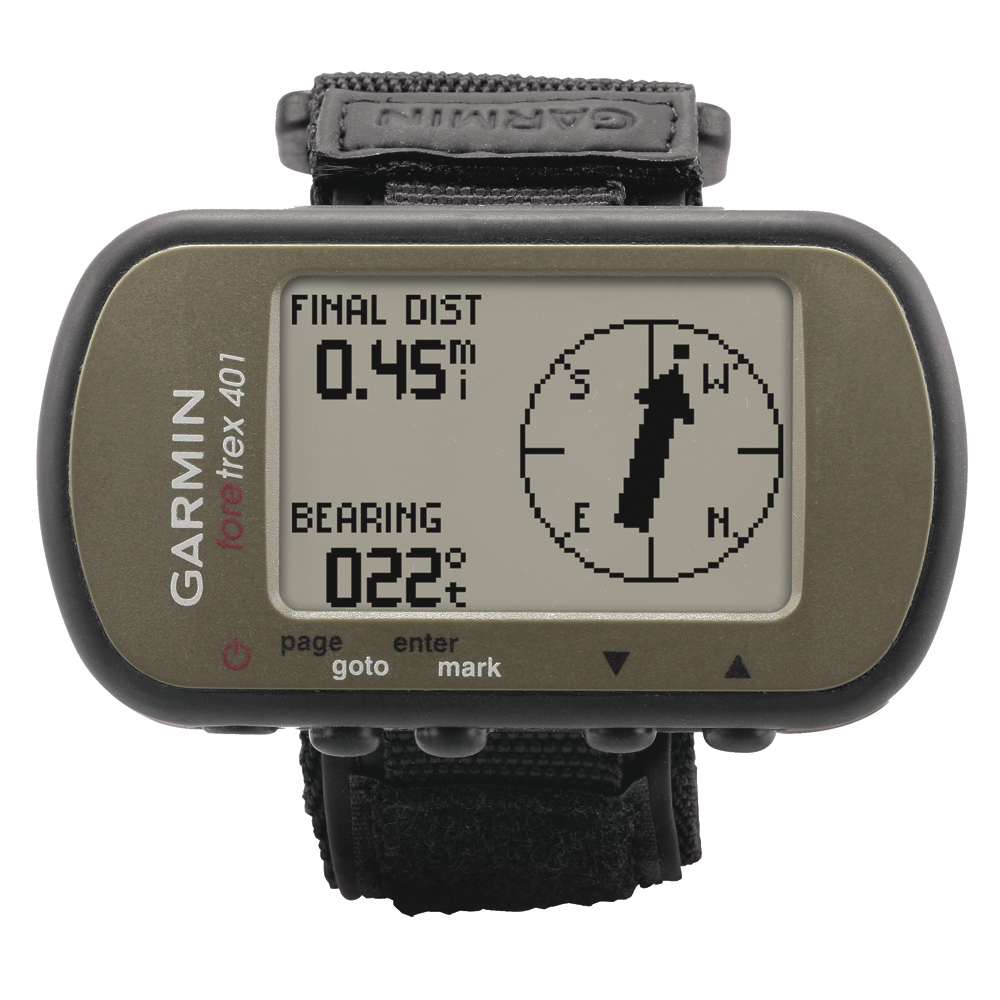 GARMIN FORETREX 401 WEARABLE GPS W  COMPASS BARO ALTIMETER by Garmin