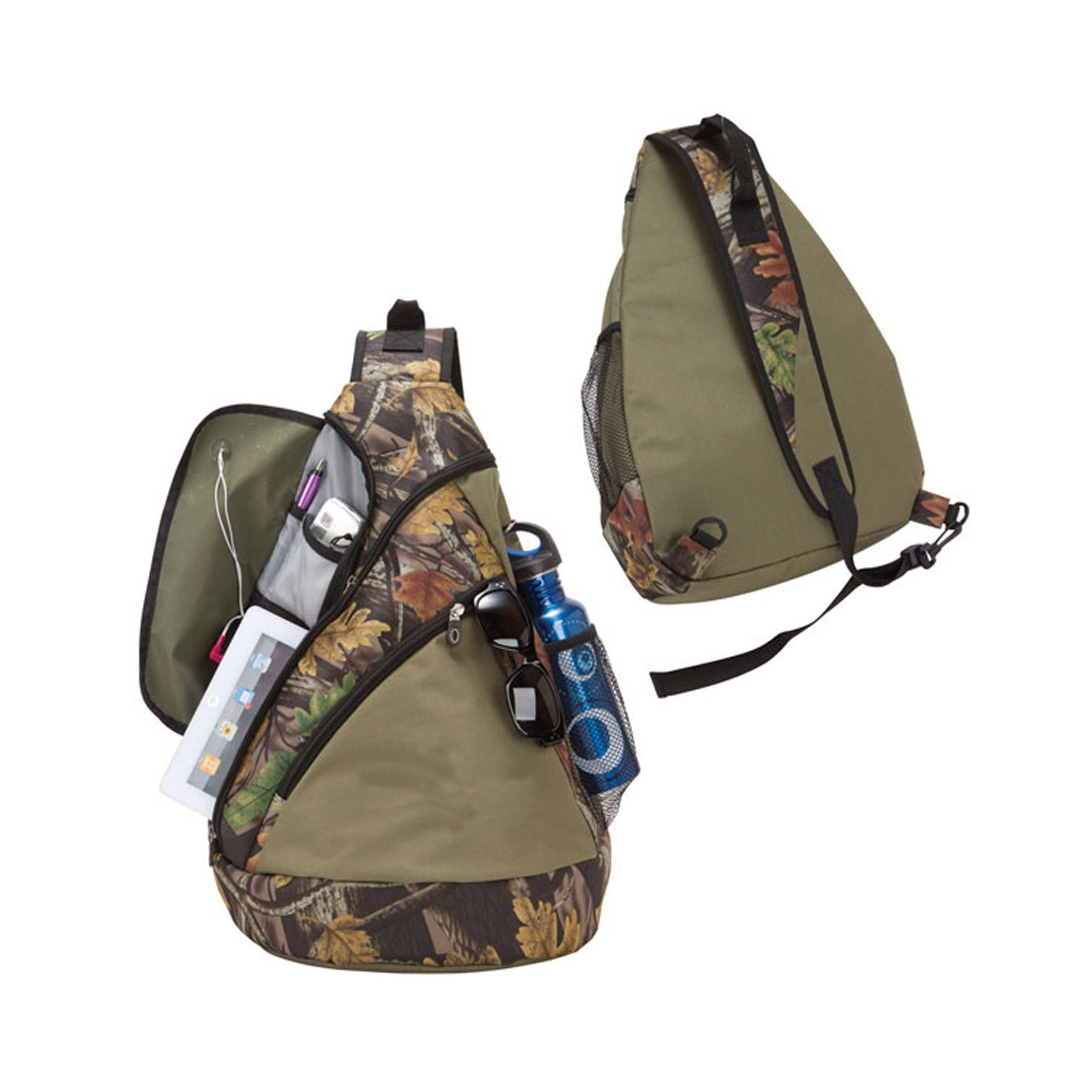 Travelwell Camo Sling Tablet Backpack