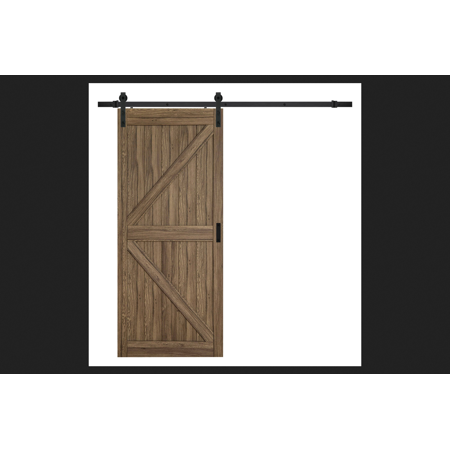 Renin 84 in  H x 36 in  W K-Design Barn Door - Walmart com