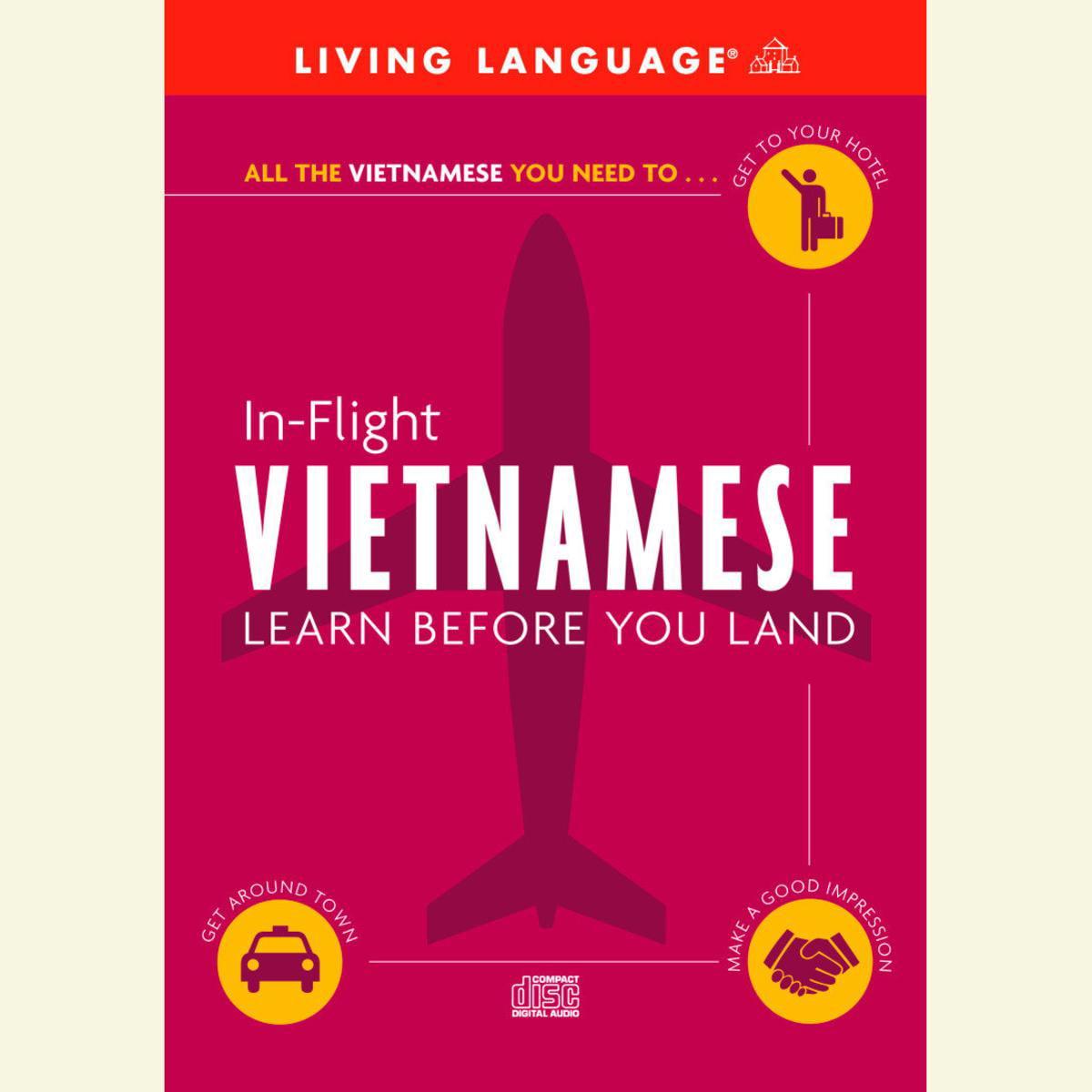 In-Flight Vietnamese - Audiobook