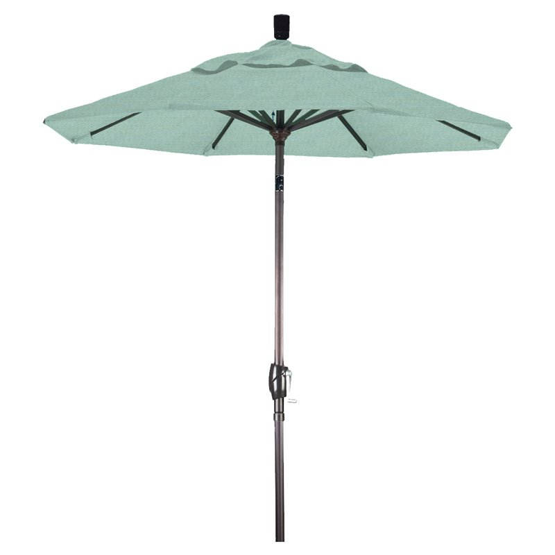 California Umbrella Pagoda 8.5 Ft. Striped Pacifica Patio Umbrella    Walmart.com