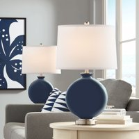 Color + Plus Naval Carrie Table Lamp Set of 2