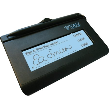 Signature Pod - Topaz SigLite T-L460 Electronic Signature Capture Pad - LCD - 4.40