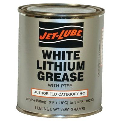 White Lithium Grease 1Lbcan W/Ptfe
