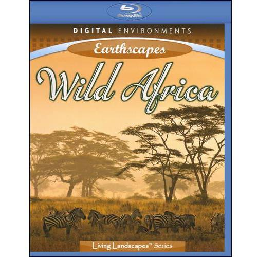 Living Landscapes: Earthscapes Wild Africa (Blu-ray) by Allegro
