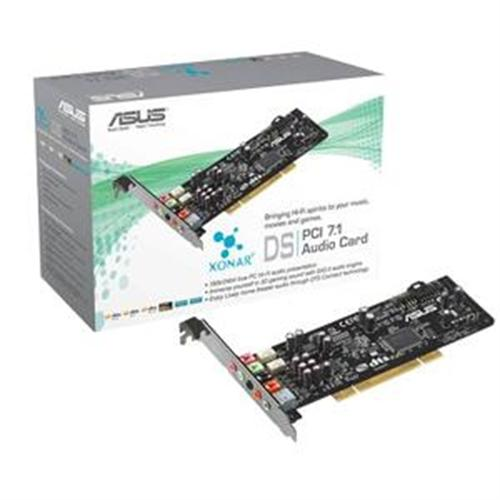 ASUS Xonar DS Sound Card AV66 Sound Processor, PCI, 107dB SNR, 7.1 Sorround, 24-bit Converter, S PDIF, RCA by ASUS