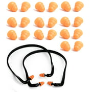 Best Shooting Ear Plugs - 2Pcs Pairs Banded Silicone Ear Plugs and 10 Review