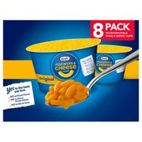 KRAFT EASY MAC Original Flavor Macaroni and Cheese, 8 ct. Cups