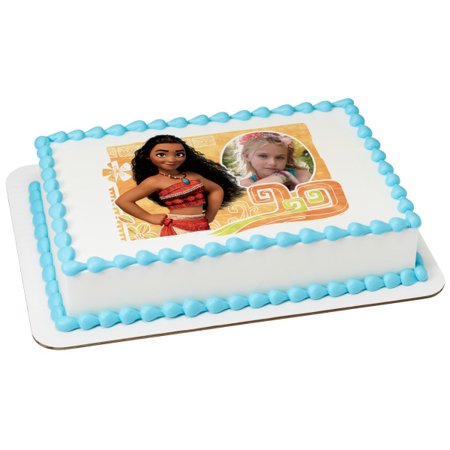 Moana The Wayfinder Frame 1/4 Sheet Image Topper Birthday Party Favor](14th Birthday Party Ideas)