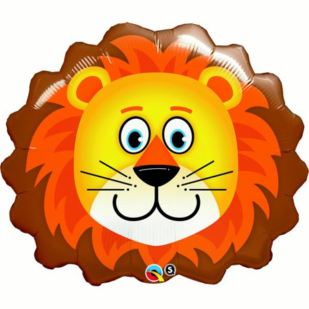Lion Balloon (each) - Party Supplies - Party City Lion