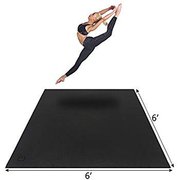 Yoga Mat 6 X6 X7mm Thick Workout Mats