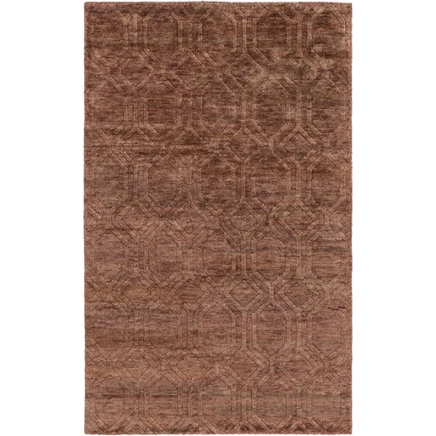 3.25' x 5.25' Athenian Boulevard Brick Red and Coconut Br...